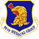 Logo: 96th Medical Group - Eglin Air Force Base